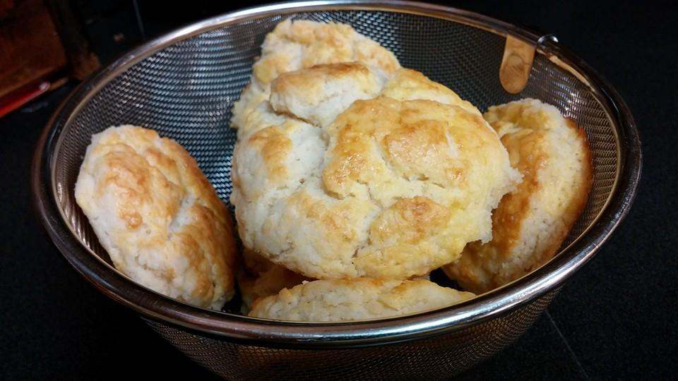 Buttermilk Biscuits (gluten free, nightshade free)